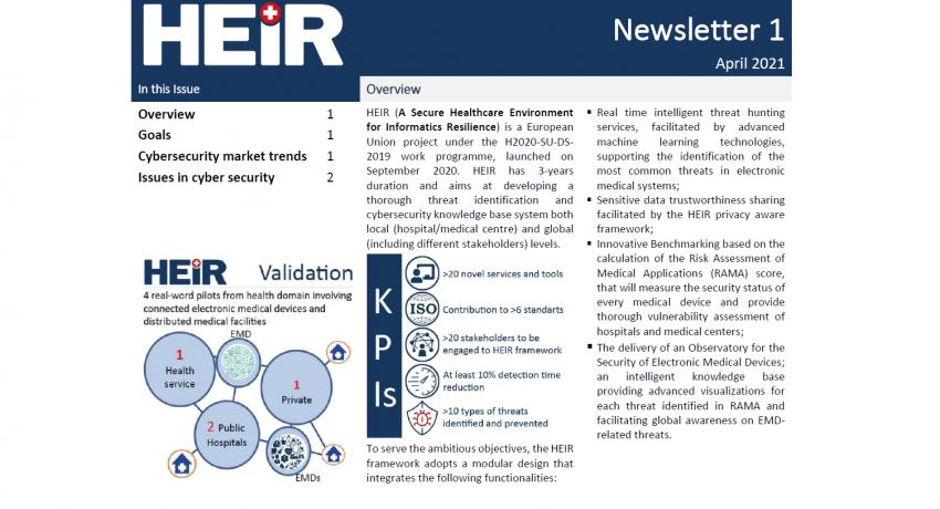 Heir 1st newsletter